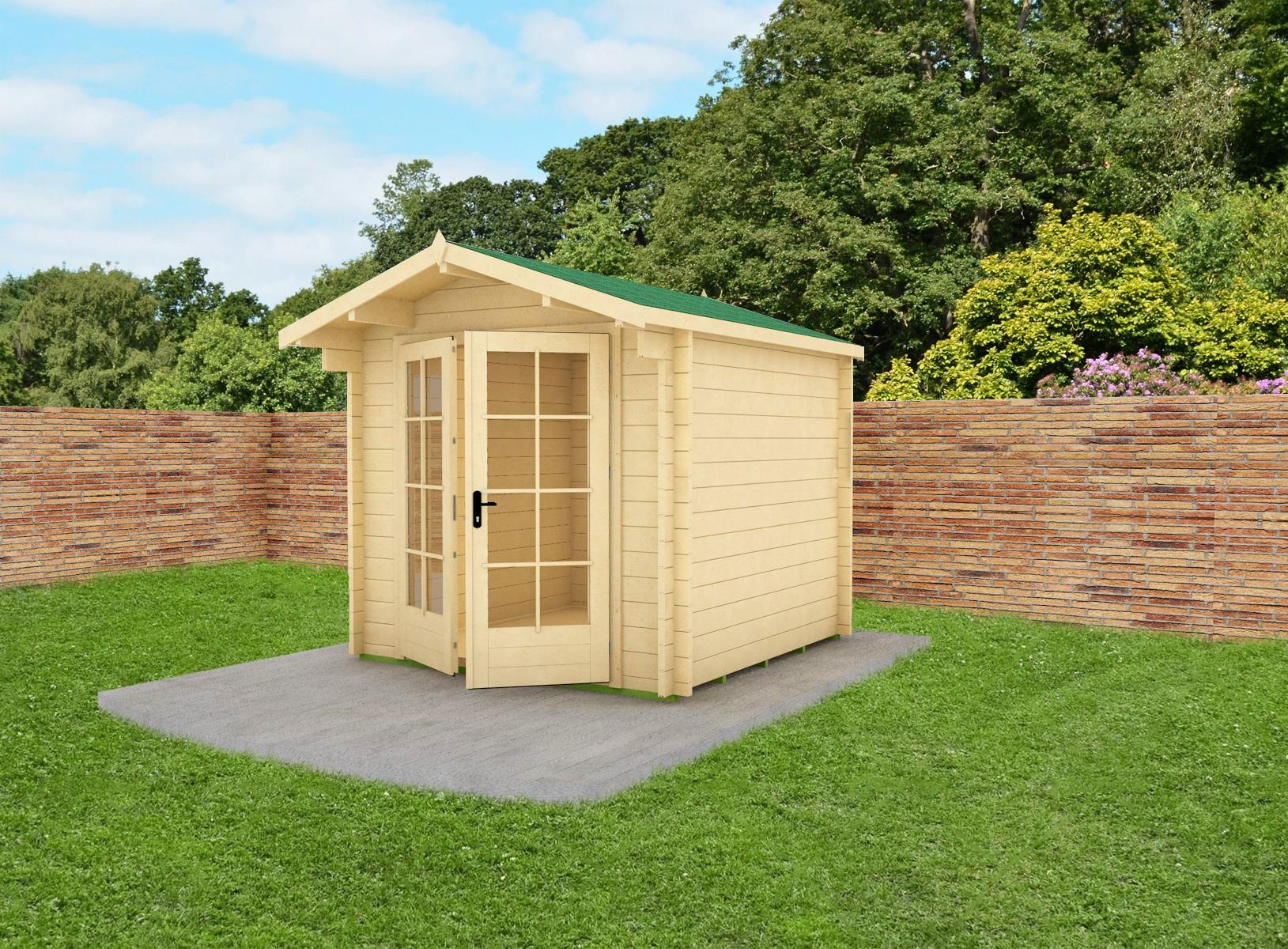 Mod napoli casetta in legno 6 mq mama servizi s r l for Planimetrie semplici della casetta di legno